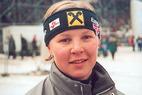 Brigitte Obermoser im Training gestürzt - ©Gerwig Löffelholz