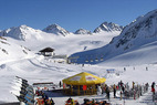 Training des Deutschen Paralympic Skiteam alpin auf dem Pitztaler Gletscher - ©Pitztal
