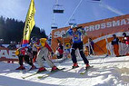 Action am Berg -  hautnah dabei beim SkierCross - ©Andreas Ehrenberger