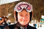 Interview mit Isabelle Huber über die Abfahrt in St. Moritz - ©Gerwig Löffelholz