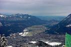 Anja Paerson liegt nach 1. Slalom-Durchgang in Garmisch vor Janica Kostelic - ©XNX GmbH