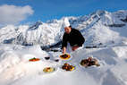 Gastronomie en wintersport: culinair genot in Frankrijk