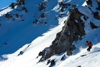 Editor Dan Kasper gets the goods with Sun Valley Heli-Ski Guides. - Editor Dan Kasper gets