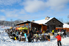 Aprés Ski Bar: The Historic Stone Chalet, Granite Peak, Wisconsin