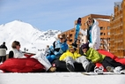 Val Thorens : dernires traces en apothose jusqu'au 12 mai