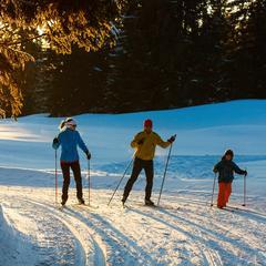 Ski nordique aux Rousses - ©Station des Rousses / S. Godin