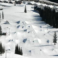 Schweitzer Mountain terrain park