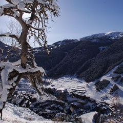 Vue sur la station de Grandvalira en Andorre