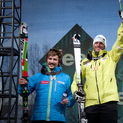 Men's Skier X podium