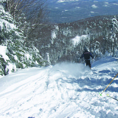 Glade skiing at Gore Mountain, New York - ©Gore Mtn