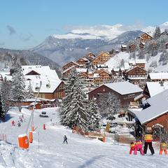M ribel pr sentation de m ribel la station le domaine skiable - Meribel office du tourisme ...