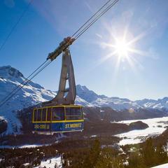 Bergstation Corviglia - ©ENGADIN St. Moritz