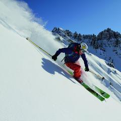 Piste für Könner im Skigebiet Axamer Lizum - ©Axamer Lizum