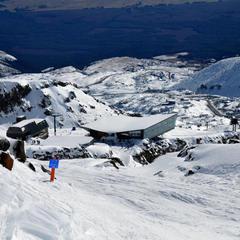 Ski sur volcan du Mont Ruapehu - ©® www.mtruapehu.com