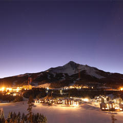 Night Village - ©Chris Kamman/Big Sky Resort
