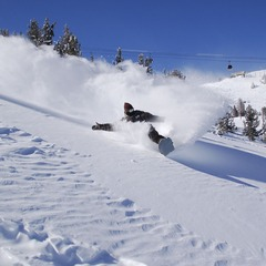Top snowboarding resort: Mammoth Mountain