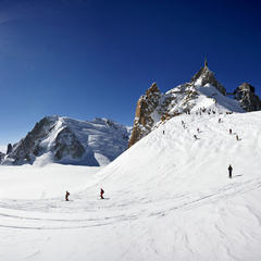 Départ de la vallée blanche - ©© Savoie Mont Blanc / Hagenmuller