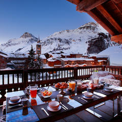Val d'Isere breakfast