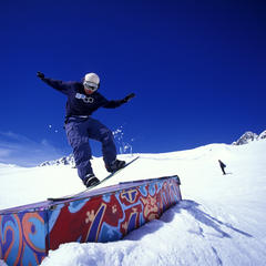 Snowparks de Savoie Mont Blanc - ©© Savoie Mont Blanc / Haase