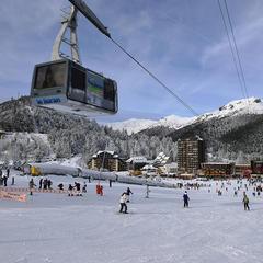 Départ des pistes de ski du Lioran - ©PountiProd / T. Marsilhac