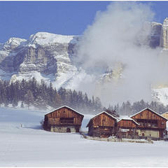 Beautiful landscapes of Alta Badia, Dolomites.