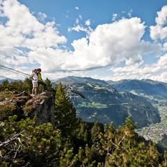 Uitkijk vanaf de Ahorn over het Zillertal: een schitterende wandelregio - ©Zillertal Tourismus/Andre Schönherr
