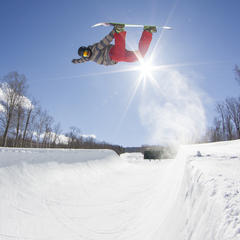 Loon Mountain Takes Terrain Park Title, East Coast - ©Gus Noffke