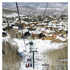 Deer Valley Utah Chairlift