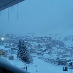 Ischgl already has a good covering of snow. Picture taken Oct. 23, 2014 - ©Ischgl
