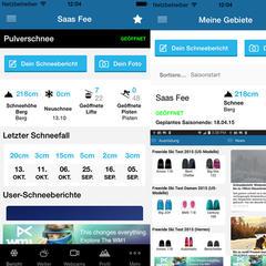 Skiinfo-App 2014/15 - ©Skiinfo