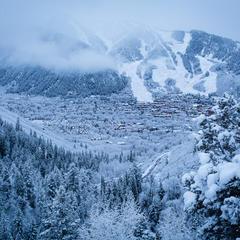 Aspen Snowmass snowfall