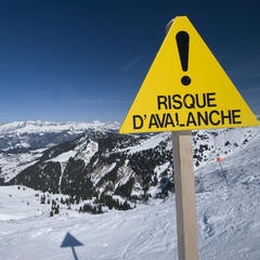 Risque d'avalanche - ©Jean-Marc RICHARD - Fotolia.com