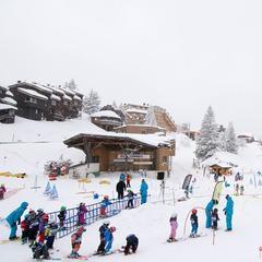 60cm of fresh snow in Avoriaz Dec. 28, 2014 - ©Avoriaz