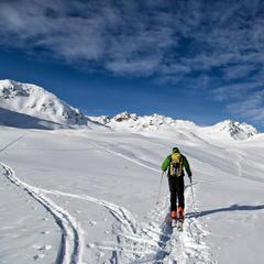 Freeriden in Davos Klosters - ©Destination Davos Klosters/Martin Heckmeier