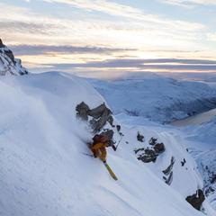 Fra Skittentind ved Tromsø. - ©Nikolai Schirmer