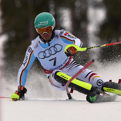 Felix Neureuther fuhr im WM-Slalom 2015 zu Bronze - ©Audi Media-Service