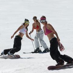 Wiosna na nartach ma też swoje plusy! - ©Mammoth Mountain Ski Area