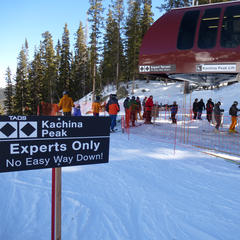 Advanced and experts only - ©Krista Crabtree