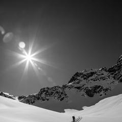 Auf Skitour in der Region Silvretta Montafon