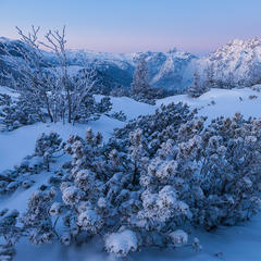 Winterwandern am Watzmann - ©Iris Kürschner