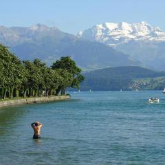 Ausblick auf die Schweizer Alpen - ©flickr_apollon