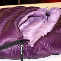 Ein Schlafsack speziell für Frauen... - ©Carinthia