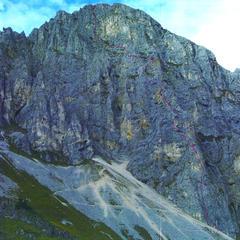 Südsporn auf die Köllenspitze - ©Tannheimer Tal