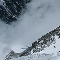 Beim Aufstieg zum Mt. Everest auf 8100m - ©Felix Berg