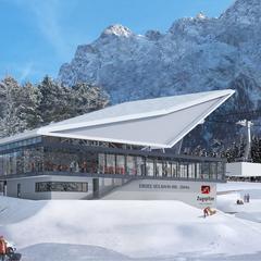 Eibsee-Seilbahn - ©Bayerische Zugspitzbahn Hasenauer Architekten