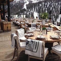 Exkluzívna terasa v Chez Vrony - ©Chez Vrony