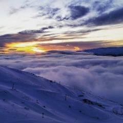 Nydelig utsikt i Cardrona i New Zealand - ©Facebook Cadrona Alpine Resort