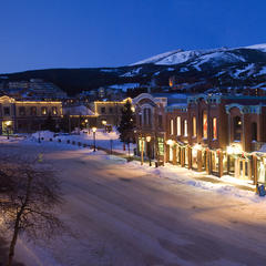 Breckenridge CO winter town - ©Carl Scofield
