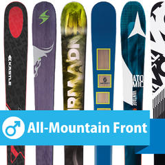 Editors' Choice, men's All-Mountain Front