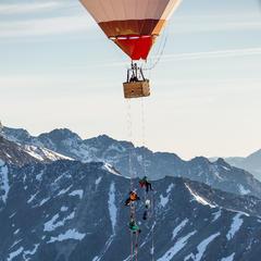 Balloonskiing - ©VAUDE | Andreas Vigl